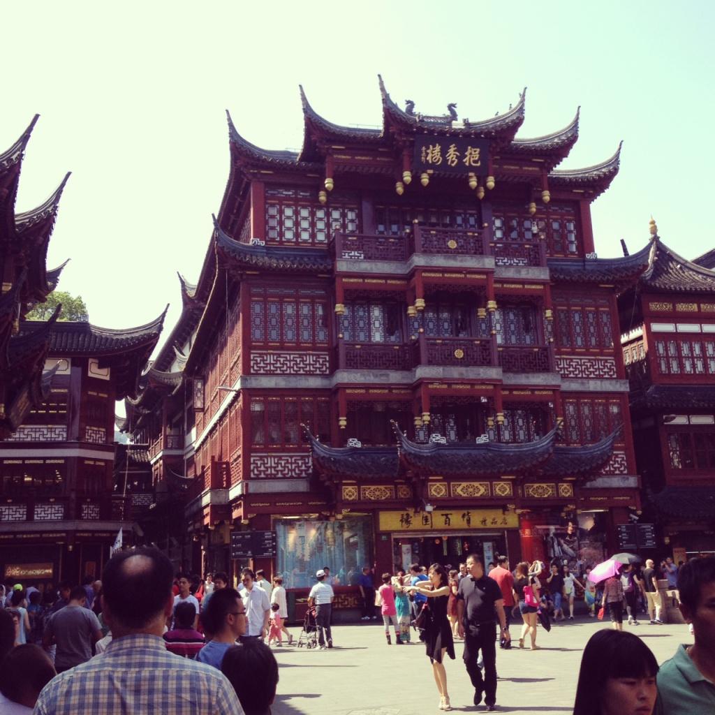 上海・豫園の中