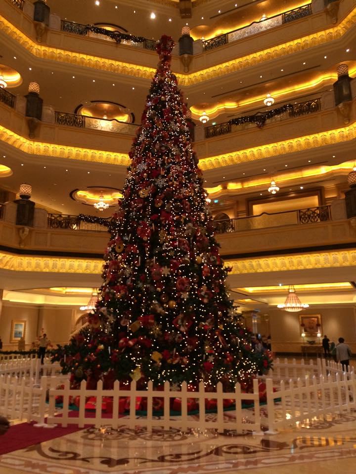 アブダビクリスマスツリー